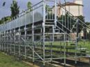 Noleggio tribune modulari